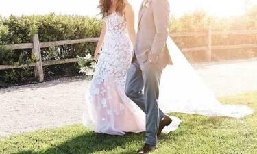 Πασίγνωστη πρωταγωνίστρια παντρεύτηκε και αυτές είναι οι πρώτες φωτό του γάμου (photos)