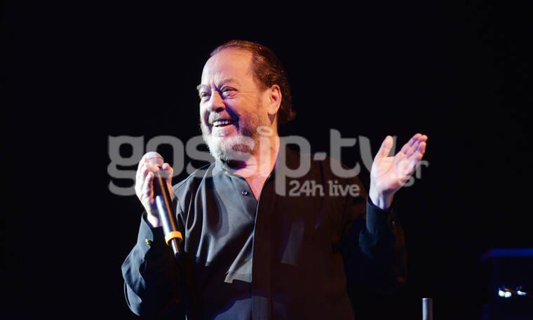 Γιάννης Πάριος: Φιάσκο με τη συναυλία του στην Κέρκυρα!
