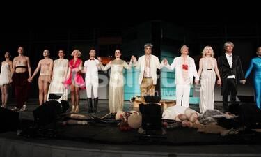Οι «Νεφέλες» του Αριστοφάνη στο Βεάκειο - Ποιους είδαμε εκεί; (photos)