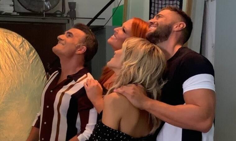 «Έλα χαμογέλα»: Backstage εικόνες από την επίσημη φωτογράφηση και τα γυρίσματα του τρέιλερ (photos)