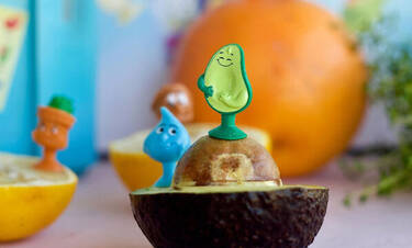 Οι ήρωες που θα κάνουν τα παιδιά να αγαπήσουν την ισορροπημένη διατροφή!