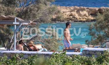 Θεοφάνους:Τελευταίες ημέρες διακοπών με την οικογένεια του λίγο πριν την πρεμιέρα του X Factor(Pics)