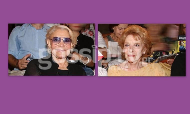 «Ικέτιδες»: Μαρινέλλα και Μάρω Κοντού σε μια κοινή εμφάνιση που έκανε τα φλας να αστράψουν (photos)