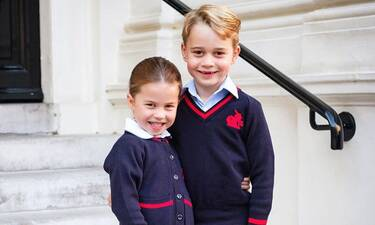 Πρίγκιπας William – Kate Middleton:  Τα βλέπεις ε; Ξεκίνησαν σχολείο και θα τους «βγάλουν» τη ψυχή!