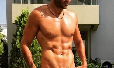 Άδωνις του ελληνικού modeling ανέβασε φωτό του νεογέννητου γιου του και... λιώσαμε! (photos)