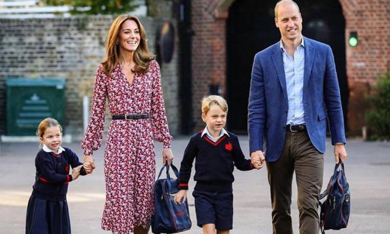 Kate Middleton: Η συγκινητική φράση που είπε στην πριγκίπισσα Charlotte την πρώτη μέρα του σχολείου