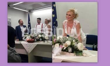 Παντρεύτηκε η Γωγώ Γαρυφάλλου- Οι πρώτες εικόνες από τον γάμο της (exclusive photos)