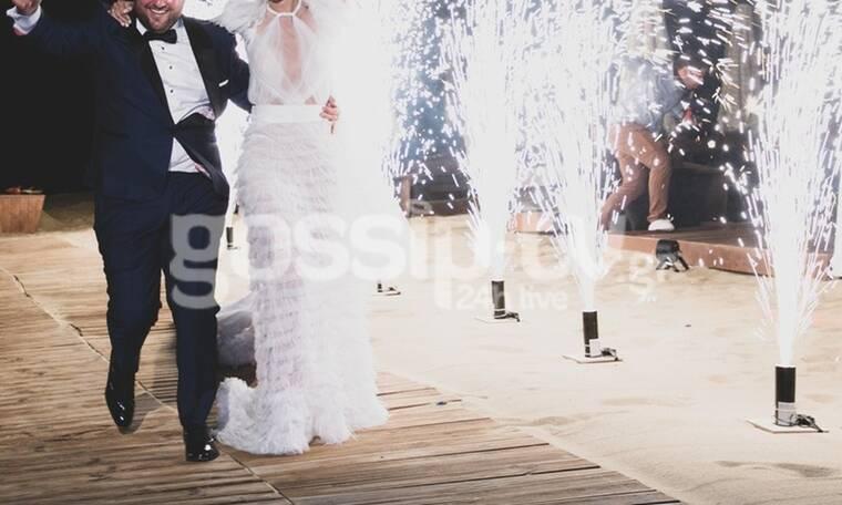 Γάμος υπερπαραγωγή στη Μύκονο! Το λαμπερό πάρτι, οι Melisses και τα πυροτεχνήματα! (photos)