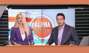 Λαυρέντης Μαχαιρίτσας: Θα εμφανιζόταν σήμερα στo «Alpha παντού»- Σοκαρισμένοι οι παρουσιαστές