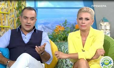 Λαυρέντης Μαχαιρίτσας: Δείτε πώς τον αποχαιρέτησαν on air Καραβάτου – Κατσούλης (Video)