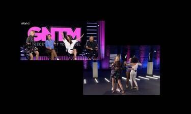 GNTM: Ο ενθουσιασμός των κριτών και οι ξέφρενοι χοροί στο πλατό (video)