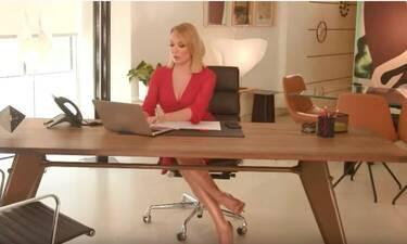 Τατιάνα Στεφανίδου: Ντυμένη στα κατακόκκινα στο τρέιλερ για τη νέα της εκπομπή το Σαββατοκύριακο!