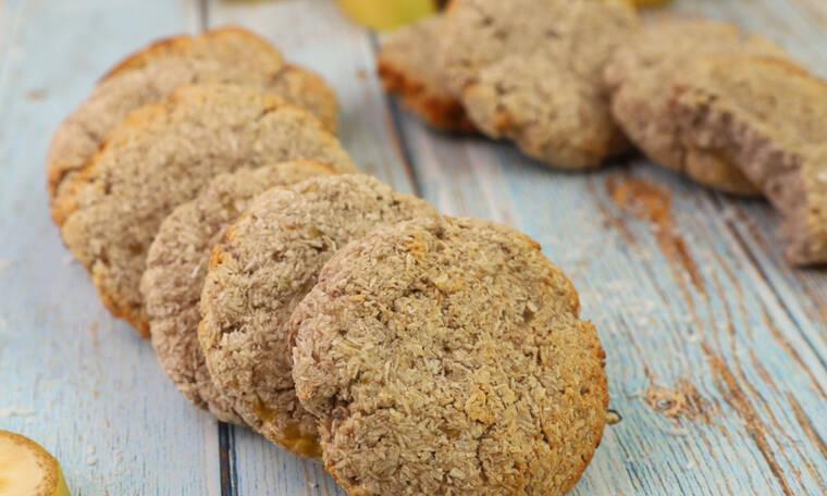 Cookies με μπανάνα και καρύδα- Θα ξετρελαθείς με αυτή τη συνταγή
