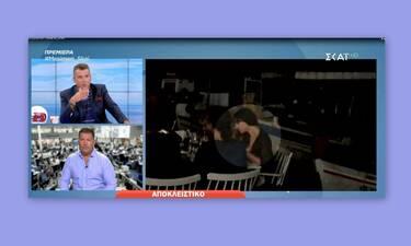 Ο Λιάγκας μας έδειξε την απόδειξη της Μόνικα Μπελούτσι από εστιατόριο της Πάρου (Video)