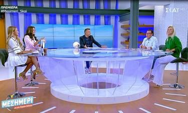 Μεσημέρι με τον Γιώργο Λιάγκα: Το απρόοπτο συμβάν στην πρεμιέρα του (Video)