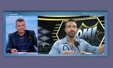 Γιώργος Λιάγκας: Έσταξε το φαρμάκι του για τον… Σάκη Τανιμανίδη! (Video)