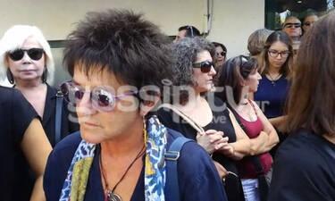 Κηδεία Μαχαιρίτσα: Φωτεινή Βελεσιώτου:«Δεν μπορώ να συνέλθω ακόμα! Μεγάλη απώλεια» (exclusive video)