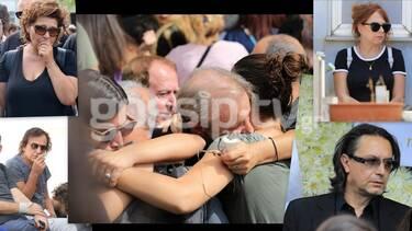 Κηδεία Μαχαιρίτσα: Ο βουβός πόνος, οι αγκαλιές παρηγοριάς και τα δάκρυα (exclusive photos)