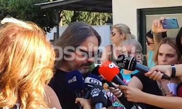 Κηδεία Μαχαιρίτσα: Ο Μιτζέλος συγκινεί: «Πέτυχε τους στόχους του. Από σήμερα περνάει στην αθανασία»