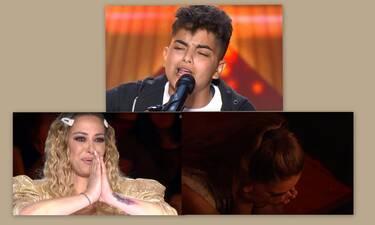 X-Factor: Ο 16χρονος υποψήφιος, η συγκίνηση και τα κλάματα στην πρεμιέρα (Video)