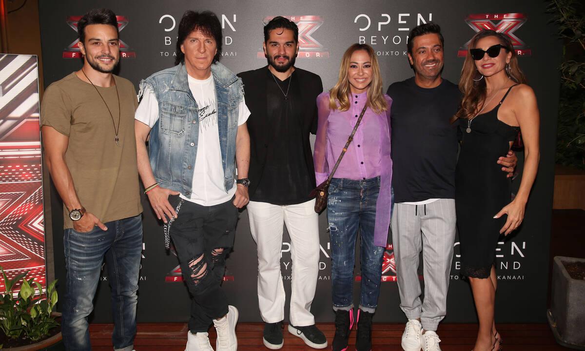 Το team του X-Factor