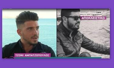 Τζόνι Αμπατζόπουλος: Ραγίζουν καρδιές τα λόγια του για τον Πάνο Ζάρλα (Video)