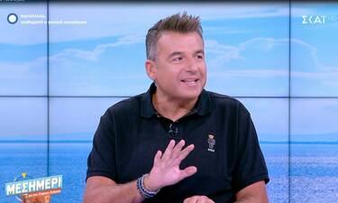 Γιώργος Λιάγκας: Το τηλεφώνημα στη Φαίη Σκορδά και ο διάλογός τους (Video)