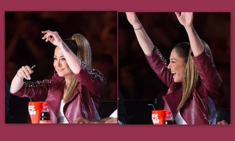 X-Factor: Απολαυστικά τα λικνίσματα της Ασλανίδου - Το συγκρότημα που την ενθουσίασε (Video)
