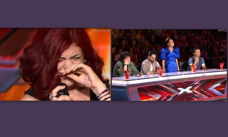 X-Factor: Ξέσπασε σε λυγμούς πάνω στη σκηνή! Η αντίδραση των κριτών που κανείς δεν περίμενε (Video)