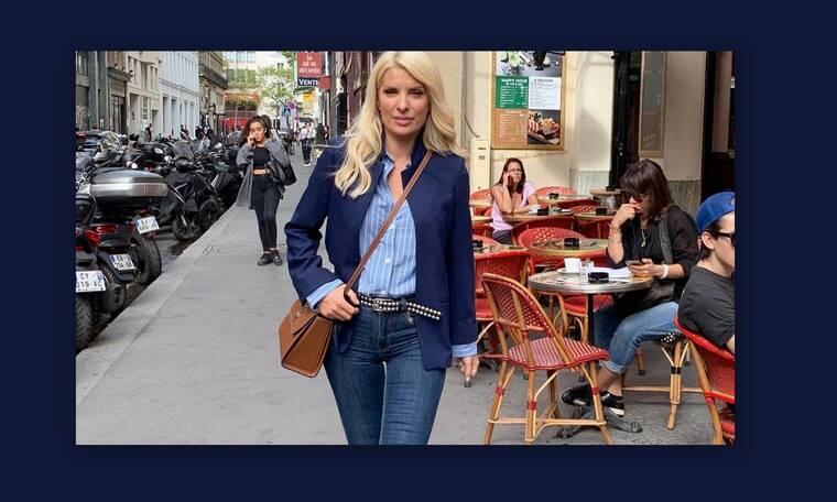 Μενεγάκη:Οι νέες φωτογραφίες από το Παρίσι και άντρας στο πλευρό της - Όχι, δεν είναι ο Ματέο!(Pics)