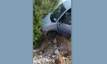 Τροχαίο ατύχημα για πρώην παρουσιάστρια – Σοκάρουν οι φωτογραφίες (Photos)
