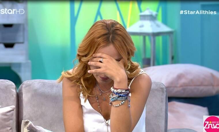 Αλήθειες με τη Ζήνα: Φωτεινή Ψυχίδου: Δεν άντεξε και ξέσπασε σε κλάματα on air! (Video & Photos)