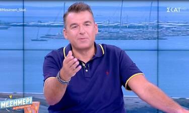 Γιώργος Λιάγκας: Απάντησε στις φήμες που τον θέλουν να είναι ζευγάρι με την συνεργάτιδά του
