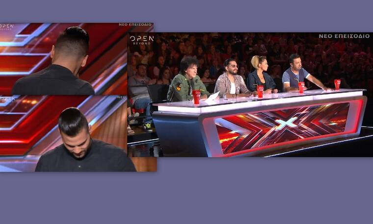X Factor: O 28χρονος παίκτης λύγισε on stage-  Η ατάκα του Θεοφάνους που τον εξέπληξε! (Videos)
