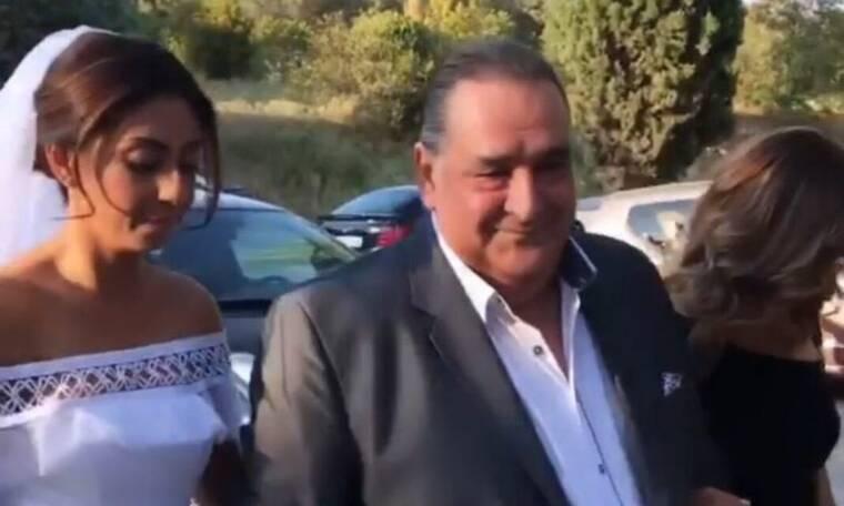 Ο Βασίλης Καρράς πάντρεψε την κόρη του! Οι πρώτες φωτογραφίες (photos)