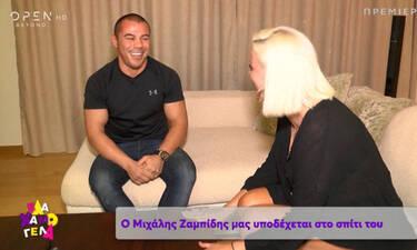 Μιχάλης Ζαμπίδης: «Σκέφτομαι τον γάμο με τη σύντροφό μου» (video)