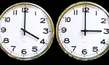 Αλλαγή ώρας: Τότε γυρίζουμε μία ώρα πίσω τα ρολόγια (photos)