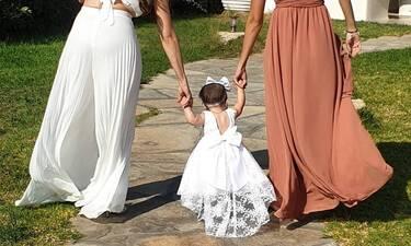 """Πρωταγωνίστρια του """"Μπρούσκο"""" βάφτισε την κόρη της! Η όμορφη νονά και το τρικούβερτο γλέντι"""