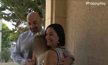 Τσάβαλου-Στεργίου: Δε φαντάζεστε τον λόγο που ονόμασαν την κόρη τους Μαρία Μελίνα (Video)