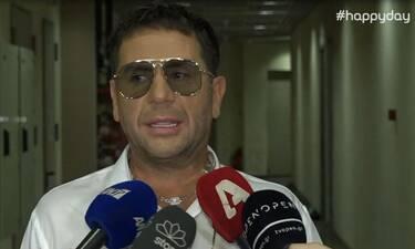 Γιώργος Μαζωνάκης: Σάστισαν οι δημοσιογράφοι με τη δήλωση για την προσωπική του ζωή (Video)