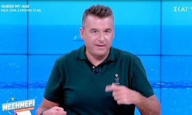 Γιώργος Λιάγκας: Τα συγκινητικά λόγια για τον Σπυριδάκη: «Συγγνώμη, Τάκη που δεν σε πήρα τηλέφωνο»