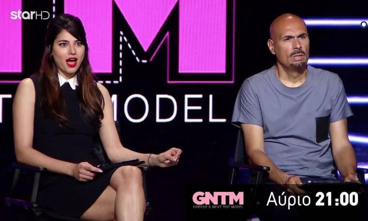 GNTM: Άφωνοι οι κριτές όταν είδαν τη διαγωνιζόμενη! Το κέφι και οι χοροί στο πλατό (video)