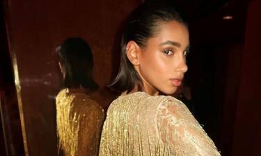 Chiara Sampaio: Με δημιουργία Celia Kritharioti Couture μαγνήτισε τα βλέμματα (photos-video)
