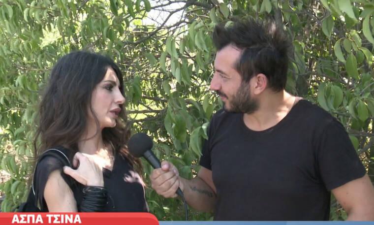 Ασπα Τσίνα: Η αποκάλυψη για τη σχέση της με τον Ανδρέα Μικρούτσικο μετά το Fame Story (video)