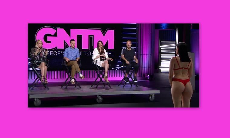 GNTM: Το plus size μοντέλο που άφησε άφωνη την Ηλιάνα! Το επικό σχόλιο για τα οπίσθια του μοντέλου