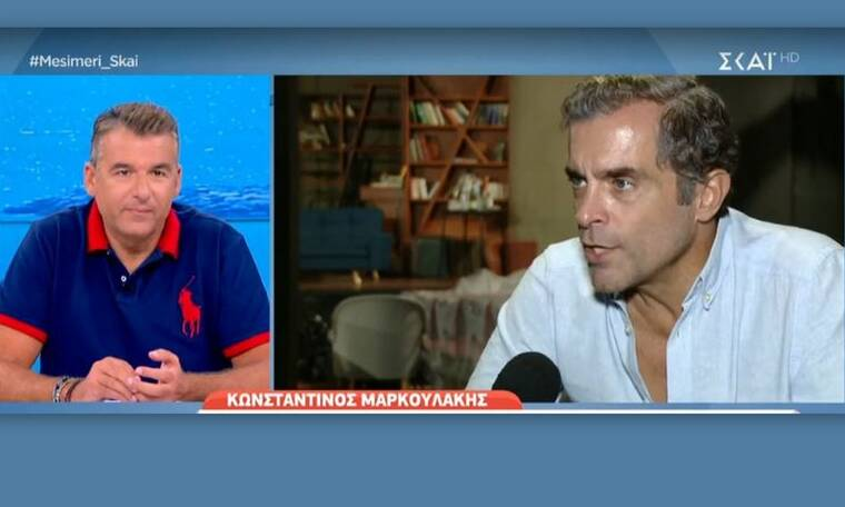 Κωνσταντίνος Μαρκουλάκης: Η συγκίνησή του on camera για το... «Λόγω τιμής»! (Video)