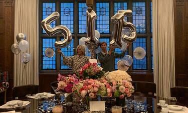 Μαρί Σαντάλ: Δεν φαντάζεστε πώς γιόρτασε τα 51α γενέθλιά της! (photos)