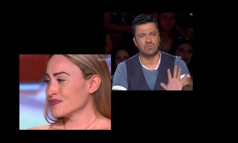 X-Factor: Ξέσπασε σε κλάματα on stage με τα σχόλια του Θεοφάνους - Δεν το περίμενε με τίποτα (video)