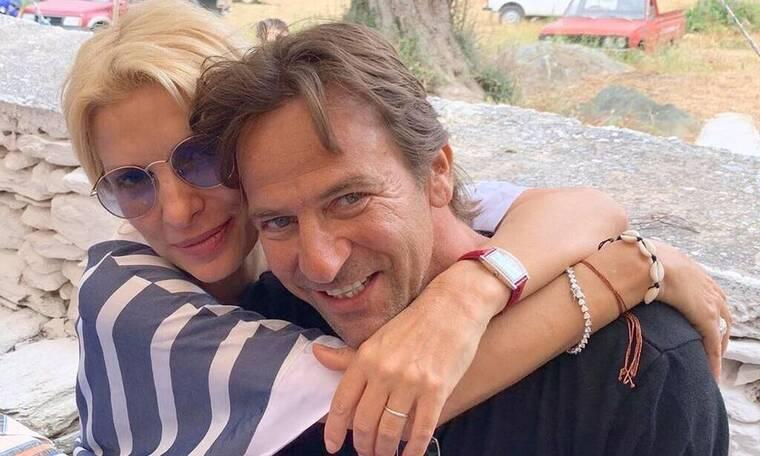 Μάκης Παντζόπουλος: Στην παιδική χαρά με τη Μαρίνα – Οι φωτογραφίες που πρέπει να δεις (Pics - Vid)