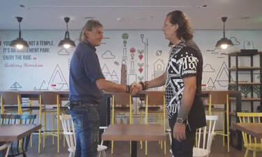 Ράμπο Vs Νίντζα (βίντεο) - Μητρόπουλος και Καλιτζάκης μιλούν στον ΟΠΑΠ για το ντέρμπι των «αιωνίων»